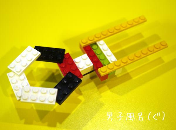 レゴで作った スタートレック エンタープライズ