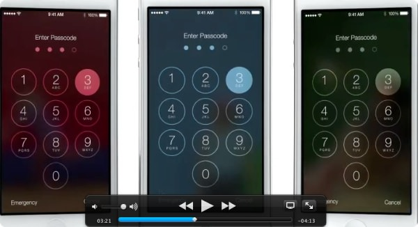 Apple iOS Design telephone