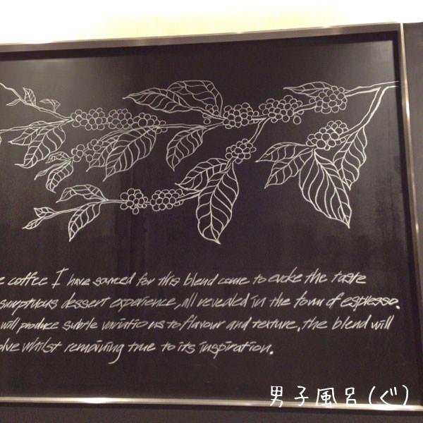 ル ショコラ ドゥ アッシュ / ポールバセット 壁の絵
