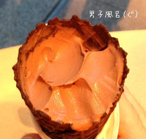 ジャラッツのアイス部分