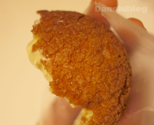表面のクッキー生地