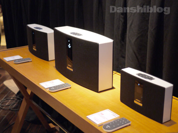 ボーズ SoundTouch Wi-Fi music systems 3製品の画像